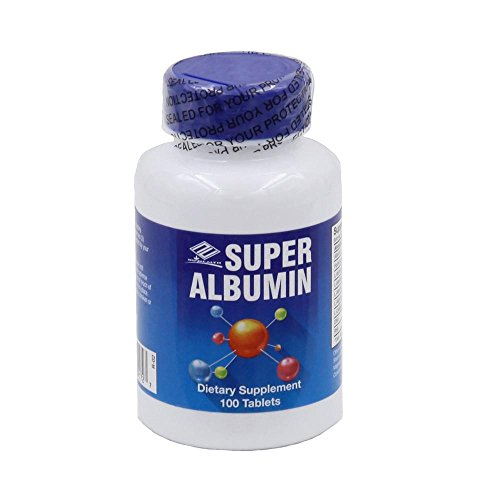 Super Albumin (100 Tablets) - 12 Pack by Nu-Health