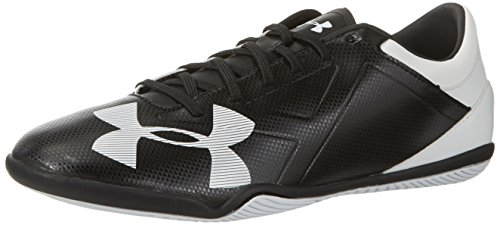 Under Armour Ua Spotlight In, Botas de Fútbol para Hombre Negro (Black 003)