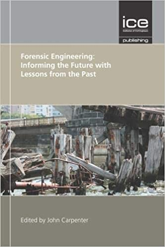 Forensic Engineering Informing The Future With Lessons From The Past Institution Of Civil Engineers 9780727758224 Amazon Com Books