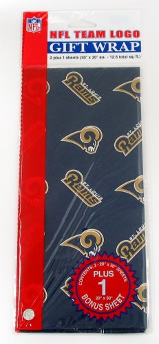 UPC 657175156294, NFL St. Louis Rams Wrapping Paper