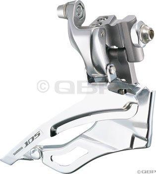 Shimano FD-5703 105 Triple Front Derailleur (10-Speed, Braze-On)