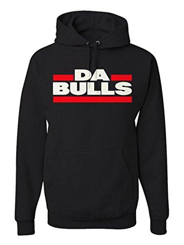 Victory Ink Men's Da Bulls Chicago Sports Hoodie Basketball Fan Pullover Sweatshirt (M) Chicago Bulls Mens Sweatshirts