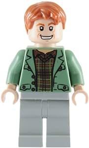 LEGO Harry Potter - Figura de Arthur Weasley (del juego 4840) con estrella naranja
