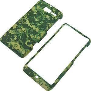Bloutina Tech Camo Green Protector Case for Motorola DROID RAZR M XT907