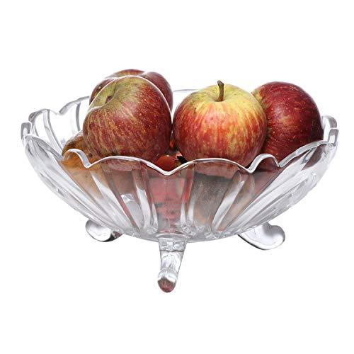 PRAX Crystal Touch Beautiful Designer Fruit Glass Bowl