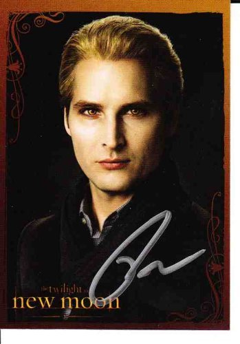 Twilight New Moon - Official (Neca+ Summit Entertainment) Signed Carlisle Cullen Autograph Card - Ra (Signed Large Photo)