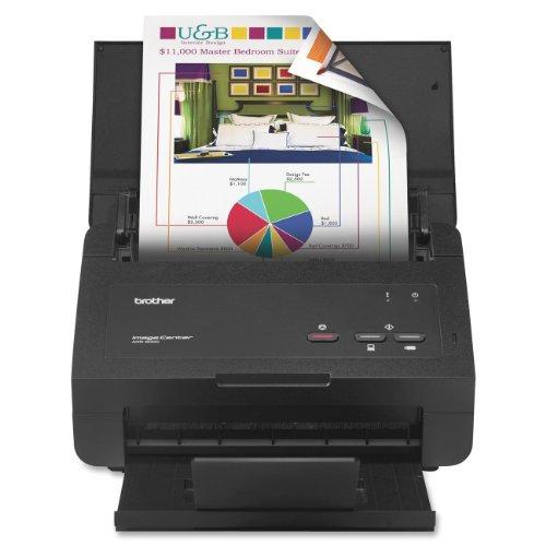 Brother ImageCenter ADS-2000 Desktop Scanner, 600 x 600 dpi, 50 Sheet Document Feeder