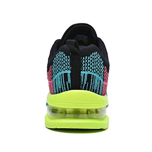 Fashion Sport Fitness Road Green Workout 5 Men's Sneakers Jogging Walking Air Gym JARLIF Running US6 12 Shoes XCIqwU