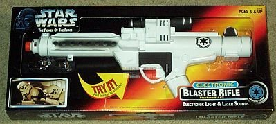 Star Wars Electronic Blaster Rifle BlasTech E-11 w/Light for sale  Delivered anywhere in USA