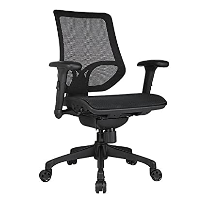 Workpro 1000 Series Mid Back Mesh Task Chair Black by Workpro