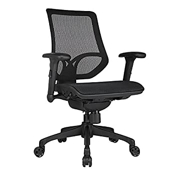 WORKPRO 1000 Series Mid-Back Mesh Task Chair Black