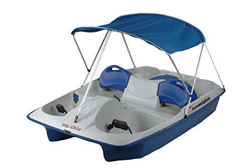 Sun Dolphin 2-Pole Pedal Boat Canopy Replacement (Blue)