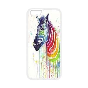 """Custom Zebra Shell Case, DIY Zebra Cover for iPhone6S 4.7"""""""