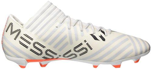 adidas Herren Nemeziz Messi 17.3 FG Fußballschuhe Mehrfarbig (Ftwr White/solar Orange/clear Grey S12)