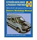 Citroen Berlingo & Peugeot Partner Petrol & Diesel: 1996 to 2010 (Haynes Service and Repair Manuals) (Hardback) - Common