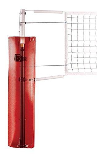 最初チームFrontier ExpressスチールCompetitionスチールバレーボールシステムwith sockets44 ;ブラック B0086IKLL6