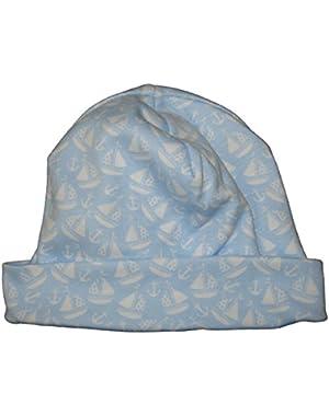Baby-Boys Infant Gone Sailing Print Hat