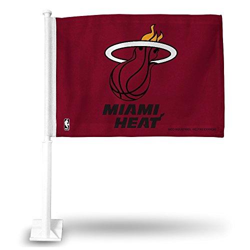 miami heat car flag - 9