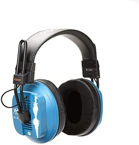 Dekoni Audio Blue Fostex Dekoni Audiophile HiFi Planar Magnetic Headphone