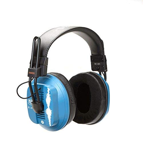 Dekoni Audio Blue Fostex/Dekoni Audiophile HiFi Planar Magnetic Headphone, One Size