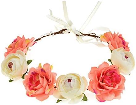 June Bloomy Floral Headband Adjustable
