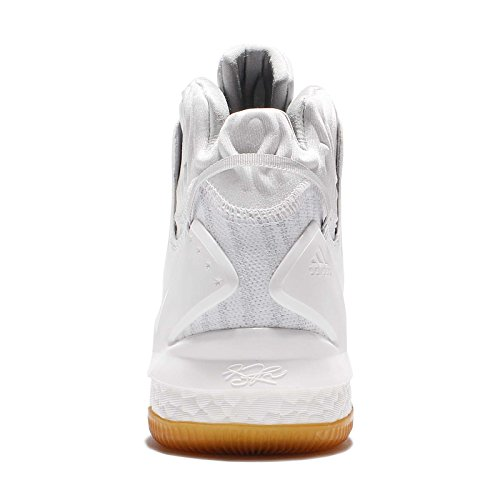 Adidas - Chaussure de Basketball adidas D-ROSE 7 Primeknit blanche Pointure - 44
