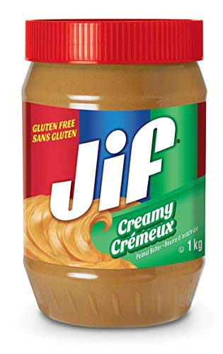 Jif Creamy Peanut Butter 1kg/35oz. (Imported from Canada)