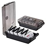 MyLifeUNIT Business Card Holder, Name Card Organizer with Dividers and Index Tabs (500 Cards)