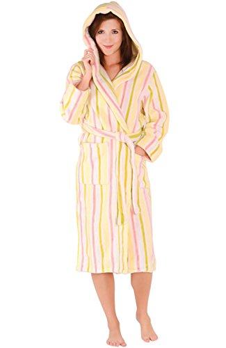 Del Rossa Womens Fleece Bathrobe