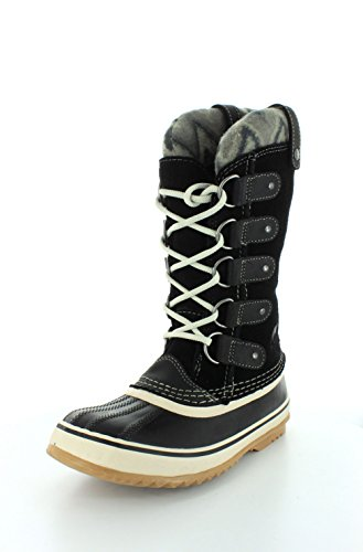 SOREL Womens Joan Of Arctic Knit Boot Black QsAxx