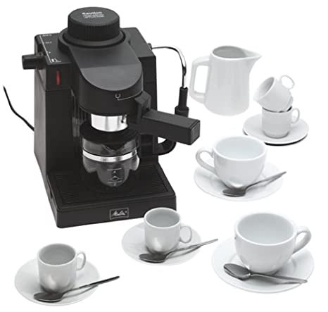 Amazon.com: Melitta mexkitb cafetera de espresso con 20 ...