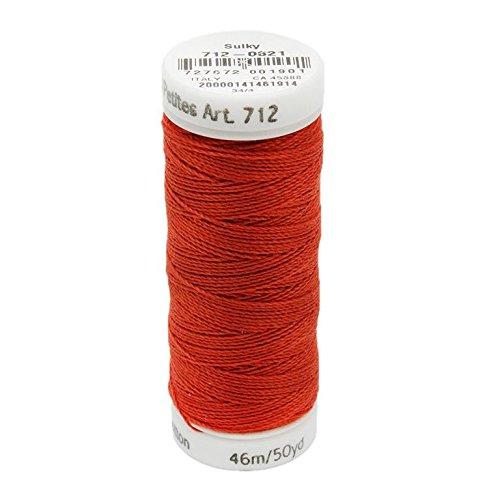 - Sulky Of America 12wt Cotton Petites Thread, 50 yd, Sunset