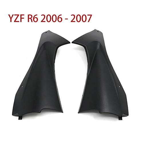 06-07 For Yamaha YZF-R6 YZF R6 YZFR6 Motorcycle Fairing Panel Infill Air Duct Side Cover Air Breather Box Case 2006 2007