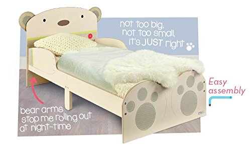 BearHug Kids Toddler Bed By HelloHome Amazoncouk Kitchen Home