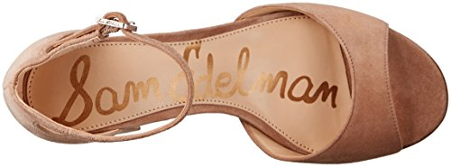 Sam Edelman Women's Susie Dress Sandal Oatmeal Suede deals for sale clearance online amazon free shipping hot sale X9lrh