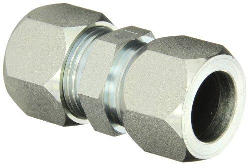 Flareless Tube - Eaton Weatherhead Carbon Steel Flareless 7000 Series Ermeto Tube Fitting, Small Hex Union, 1