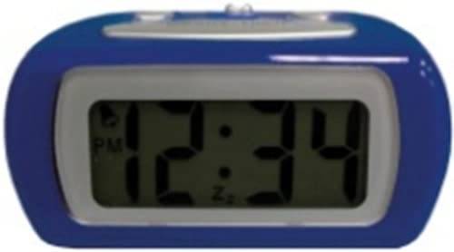 Advance Time Technology LCD Alarm Clock, Blue
