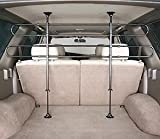 Source Premium Universal Double Bar Vehicle Car Auto SUV Pet Barrier