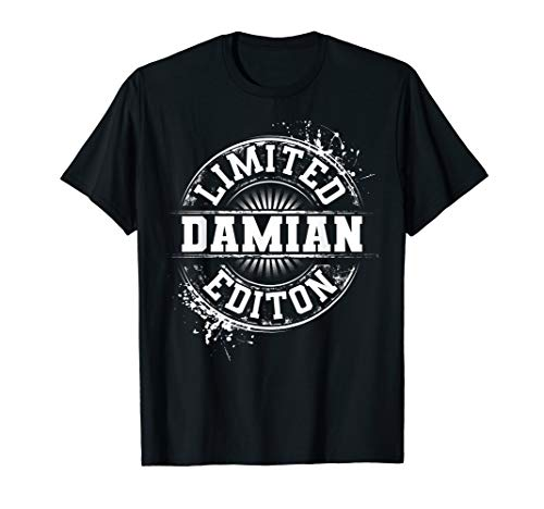 DAMIAN Limited Edition Funny Personalized Name Joke Gift T-Shirt