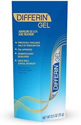 Differin Adapalene Gel 0.1% Acne Treatment (up to 30 Day supply), 15 gram