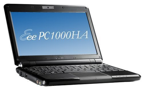 ASUS Eee PC 1000HA 10-Inch Netbook (1.6 GHz Intel ATOM N270 Processor, 1 GB RAM, 160 GB Hard Drive, 10 GB E-Storage, XP Home, 6 Cell Battery)