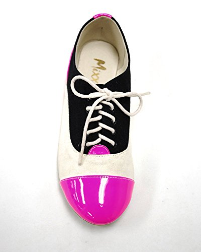 Pink Shuz Flat Oxford Trudy Mixx xw6Tn8qP6p