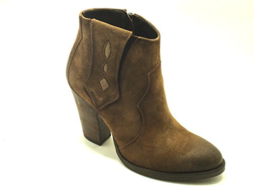CafèNoir - Botas para mujer marrón marrón calzatura
