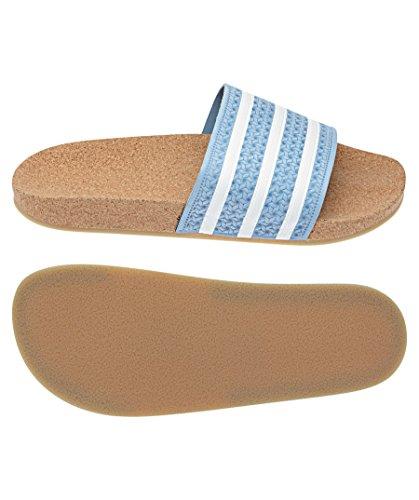 000 Adilette Blue adidas Gum4 Azucen W Women's Ftwbla and Pool Beach Shoes Pink Cork pFwBqO