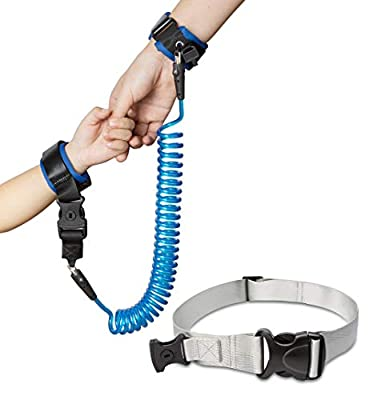 Anti Lost Wrist Link Child Safety Harness Walking Hand Leash,Toddler Safety Anti-Lost Wrist with Extra Long Safety Strap 8.2 Ft