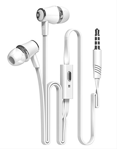 RedSonics 2018 Hot WQ1 Headset Sport Earbuds Earphone For Mobile Phone Xiaomi Samsung PC Gaming Auriculares[ White ] by RedSonics
