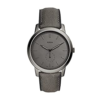 Men's Grey Strap Watch