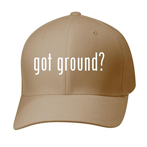 BH Cool Designs Got Ground? - Baseball Hat Cap Adult, Khaki, - Fedex Ground Hats