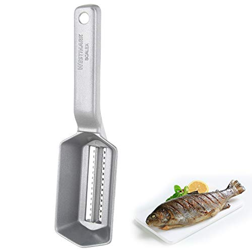 Westmark 65002260 Fish Scaler, 8.3 x 2.1 x 2.3 inches, Stainless Steel