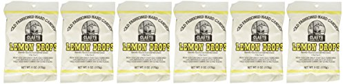 (Claey's Candies Lemon Drop Hard Candy, 6 Package Deal)
